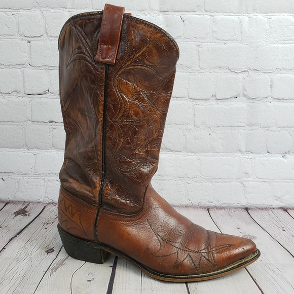 b59698e4fe4 ACME Country Cowboy Boots 8 Western Country Shoes